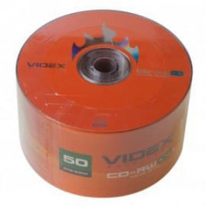 диски cd-rw videx 700 mb 12x bulk 50 шт Videx 00081