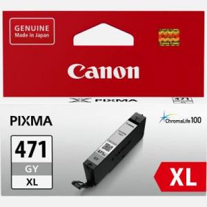 оригинальный картридж canon cli-471gy xl gray (0350c001) CANON 0350C001