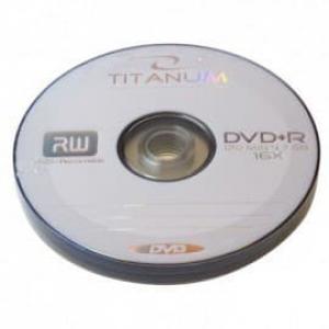 диски titanum dvd+r 4.7gb 16x  bulk 10шт Titanum 20855
