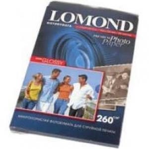 Фотобумага Lomond суперглянцевая А5, 260г, Bright  100л. Код 1103104