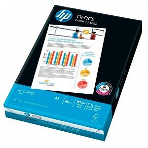 Офисная бумага А3, 500 листов, 80 г/м2, HP Office (International Paper)