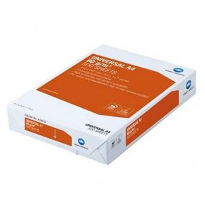 Офісний папір А4, 80 г/м2, 500 аркушів Konica категорії якості B +