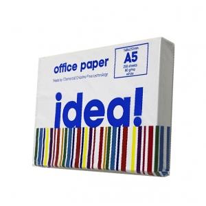 Офисная бумага А5, 80 г/м2, 250 листов idea