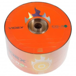 диски cd-r videx 700mb 52x bulk 50 Videx 21027