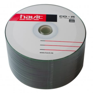 диски havit cd-r 52x 700 mb, bulk 50 штук HAVIT 21353