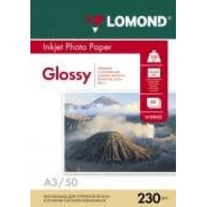фотобумага lomond глянцевая 230 г/м, а3 50лис. код 0102025 Lomond 0102025
