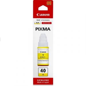 Чернила Canon GI-40C Yellow оригинальные (3402C001), 70мл