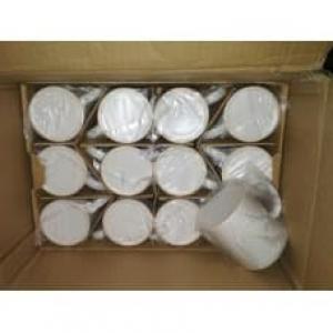 Чашки для сублімації матові білі 330мл, 36шт (PREMIUM)
