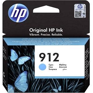 Картридж HP для Officejet Pro 8013, 8023, HP 912 Cyan (3YL77AE)