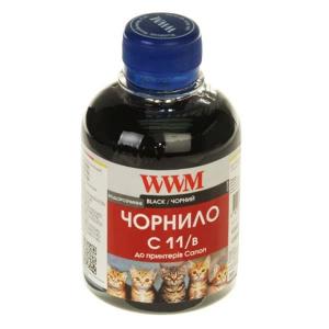 чернила wwm canon cl521, cli426bk (black) c11/b, 200г WWM C11/B