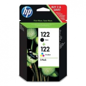 комплект картриджей hp №122 black/color (cr340he) HP CR340HE