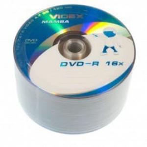 диски dvd-r 4.7gb 16x bulk 50шт Videx 20931