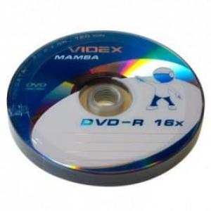 диски dvd-r 4.7gb 16x bulk 10шт Videx 20929