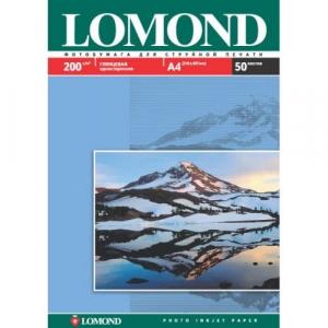 фотобумага lomond глянцевая 200 г/м, а4, 50лис. код 0102020 Lomond 0102020