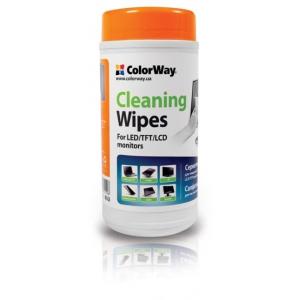 чистящие средства colorway салфетки для lcd и tft 100шт cw-1071 ColorWay CW-1071