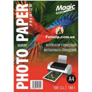 фотобумага мagic a4 глянцевая 180g, 100 листов (new) Magic GL180A4/100