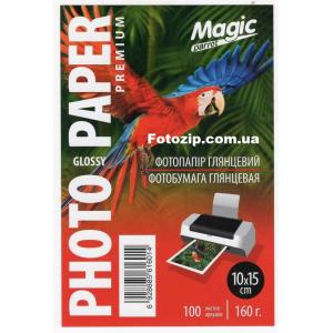 фотобумага мagic 10х15 глянцевая, 160g, 500 листов (superior) Magic GL160A6/100-5p