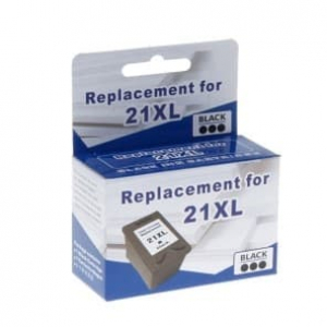 Картридж струйный MicroJet для HP DJ 3920/F4200/F5200 аналог HP 21XL Black (HC-E01X) повышенной емкости