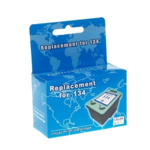 картридж струйный microjet для hp dj 5743/6543 аналог hp 134 color (hc-f34l) MicroJet HC-F34L
