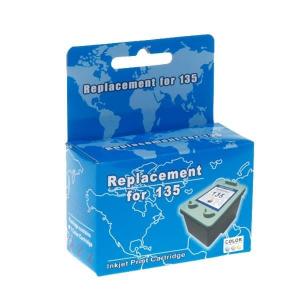 Картридж струйный MicroJet для HP DJ 5743/6543 аналог HP 135 Color (HC-F34)