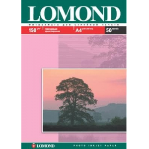 фотобумага lomond глянцевая 150 г/м, а4, 50лис. код 102018 Lomond 0102018