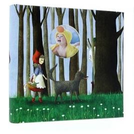 Фотоальбом детский 10X15 на 200 фото, BABY 200 STORY-3 (красная шапочка)