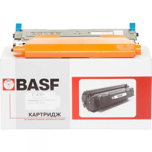Картридж лазерный для Samsung CLP310N, 315, CLX-3170 аналог CLT-C409 Cyan BASF (BASF-KT-CLTC409S)