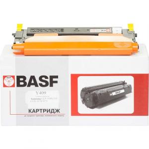 Картридж лазерный для Samsung CLP310N, 315, CLX-3170 аналог CLT-Y409 Yellow BASF (BASF-KT-CLTY409S)