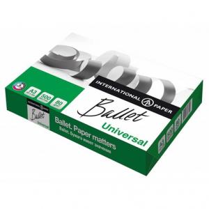 Офисная бумага А3, 500 листов, 80 г/м2, Ballet Universal (BT.A3.80.UN)