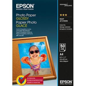 фотобумага epson глянцевая, 200g/m2, a4, 50л c13s042539) Epson C13S042539