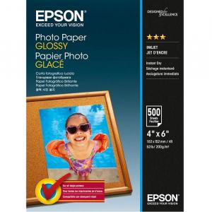 Папір Epson глянцевий, 200g/m2, 102 х 152мм, 500л