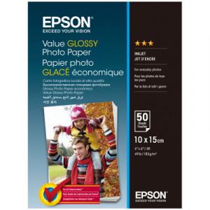 Фотопапір Epson глянсовий, 183g/m2, 10х15, 50 аркушів, C13S400038