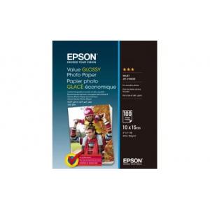 фотобумага epson глянцевая, 183g/m2, 10х15см, 100л, c13s400039 Epson C13S400039