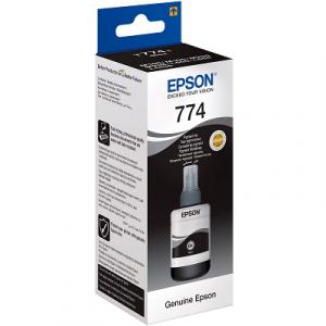 Чернила Epson M100 Black (C13T77414A), 140 мл пигментные