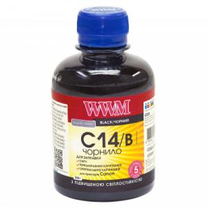 Чернила WWM для Canon 200мл Black светостойкие (C14/B)