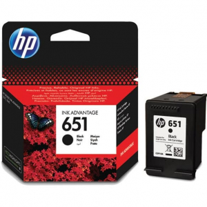 картридж hp 651 для deskjet 5575, officejet 202, black (c2p10ae) HP C2P10AE