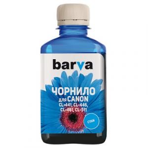 Чернила BARVA для Canon 180 мл cyan (C461-728)