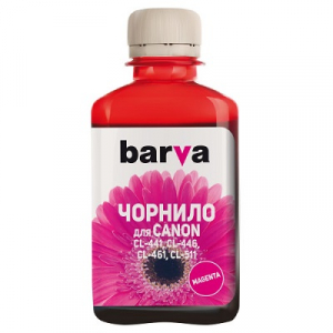 Чорнила BARVA для Canon 180 мл  magenta (C461-733)