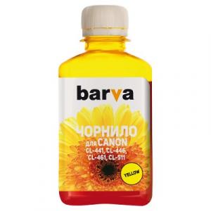 Чернила BARVA для Canon 180 мл yellow (C461-734)