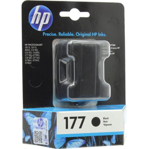 картридж  hp ps 3213/3313/8253 (c8721he) №177 black, 6 ml HP C8721HE