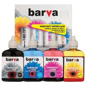 Комплект чернил BARVA для Canon 4x100 мл (CPG460-100-MP)