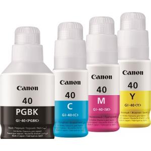 Набор оригинальных чернила Canon GI-40 (135мл Black, 70млх3 Color)