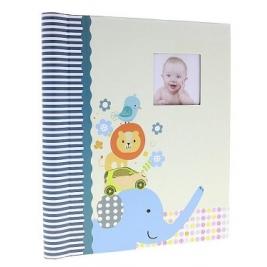 Фотоальбом самоклеющийся детский на 20 страниц, для мальчика DRS10 ANIMALS