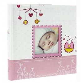 Фотоальбом самоклеющийся детский на 40 страниц, для девочки DRS 20BIRTH