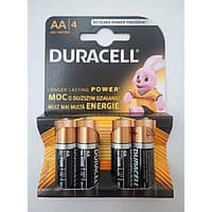 Батарейка Duracell LR06 AA, 1x4шт.