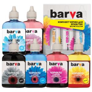 Комплект чернил BARVA для Epson P50, PX660, R270, R290, T50, TX650 (6х90г) E081-090-MP