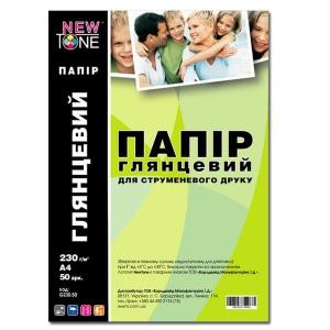 фотобумага newtone глянцевая a4, 230г, 50 листов (g230.50) NewTone G230.50