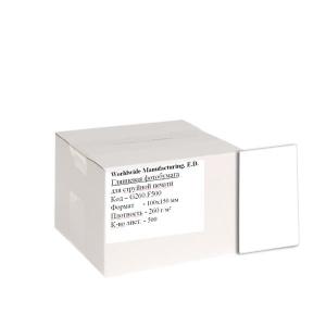 фотобумага wwm, глянцевая 260g, m2, 100х150 мм, 500л (g260n.f500/c) WWM G260N.F500/C