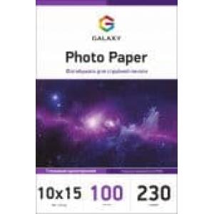 глянцевая фотобумага 10x15, 230г, 100 листов, galaxy (gal-a6hg230-100) Galaxy GAL-A6HG230-100