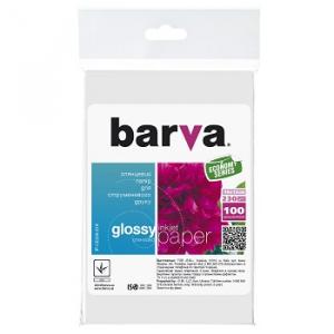 Глянцевая фотобумага 10x15, 230г/м2, 100 л, BARVA Everyday (IP-CE230-218)